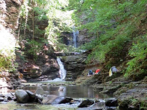 Deckertown Creek Falls