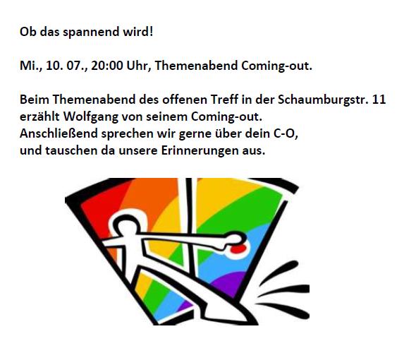 Heute gay treffen in münster [PUNIQRANDLINE-(au-dating-names.txt) 49