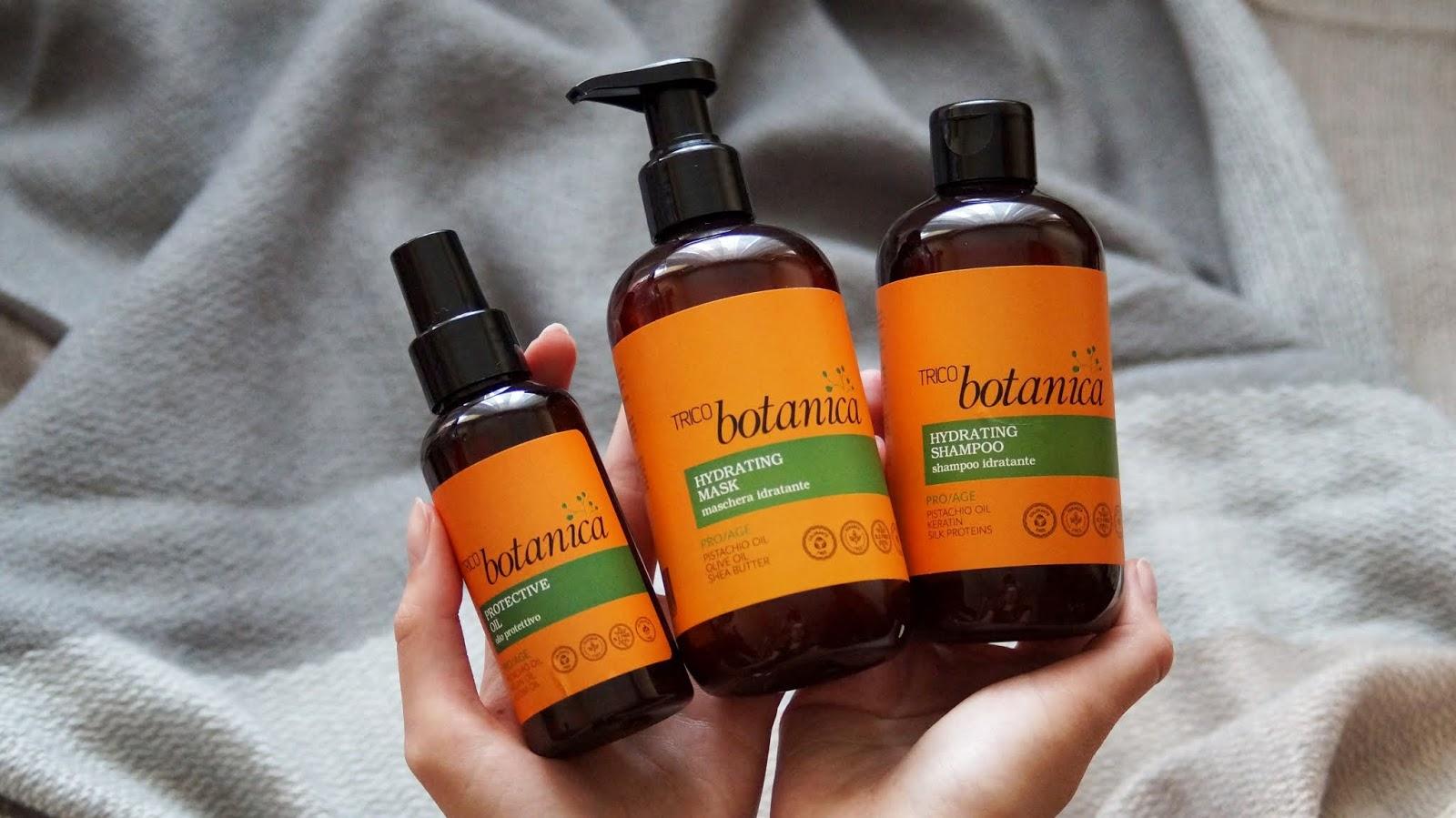Trico Botanica PRO AGE - naturalna pielęgnacja włosów z olejem pistacjowym