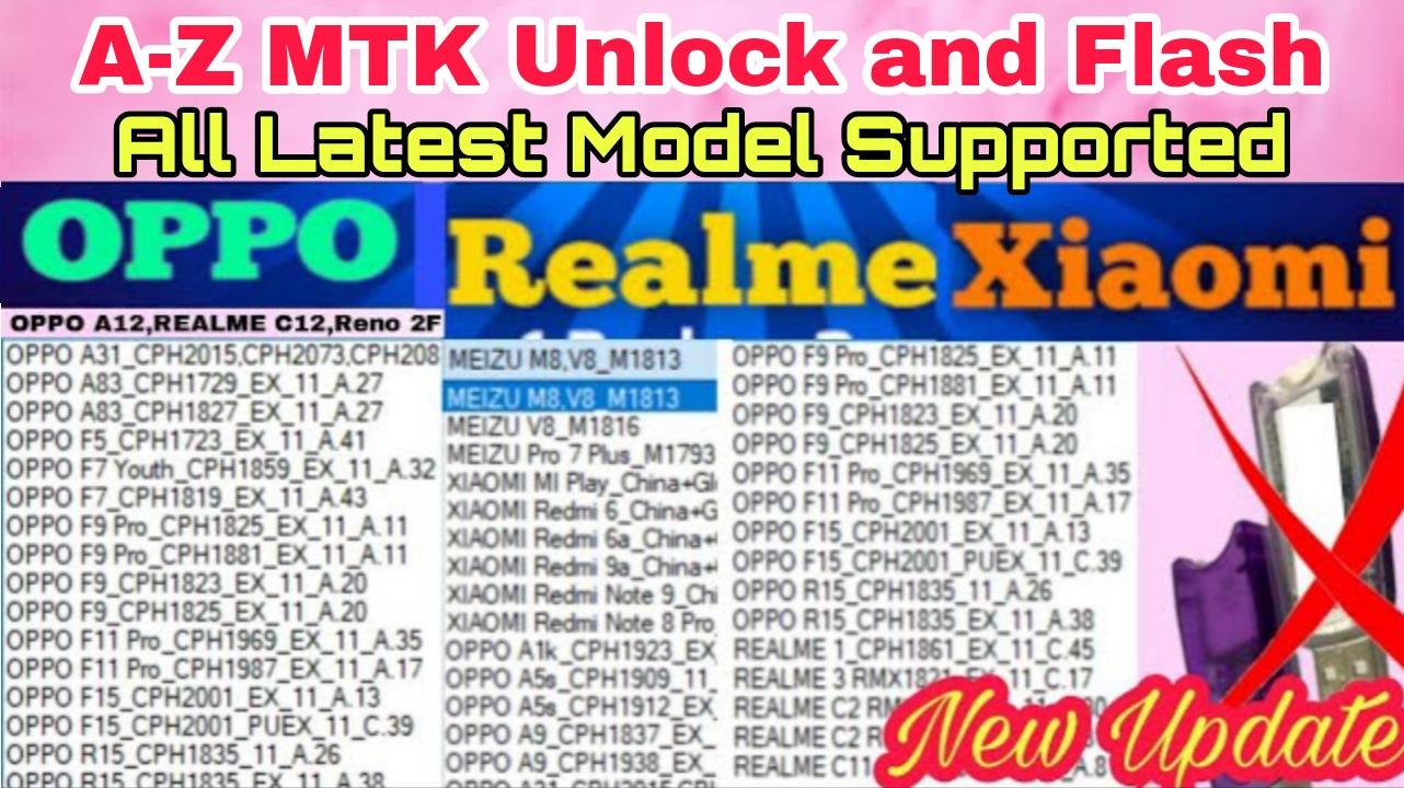 Remove Mi Account,Frp Lock And Pattern,Pin and Password | Xiaomi Redmi,Oppo and Realme