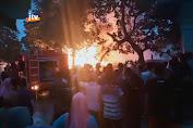 Dua Rumah Dan Satu Gudang Penyimpanan Solar Ludes Terbakar