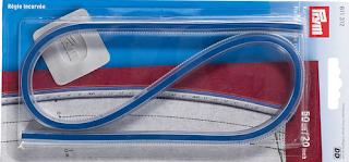 Buigliniaal, flexibele liniaal voor rondingen meten en tekenen