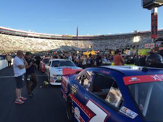 NASCAR pit pass
