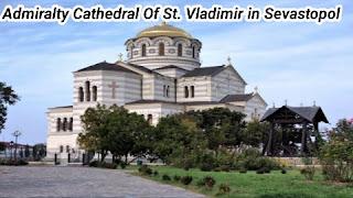 Admiralty Cathedral Of St. Vladimir Sevastopol
