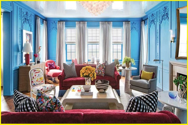 victorian living room layout