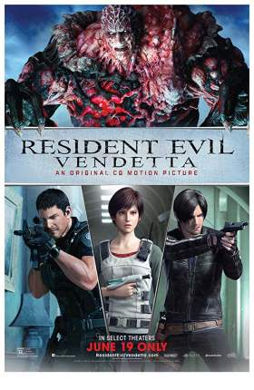 Resident Evil Vendetta 2017 Dual Audio Hindi 750MB BluRay 720p
