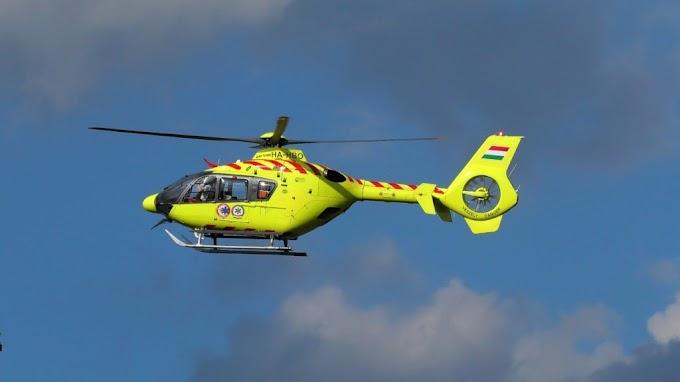 Súlyos baleset Heréd és Kerekharaszt között: mentőhelikopter is érkezett
