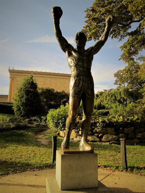 Statua di Rocky a Philadelphia