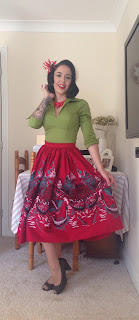 Pinup Girl Jenny Skirt Lauren Top