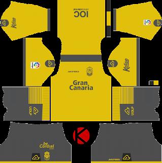 UD Las Palmas 2017/18 - Dream League Soccer Kits