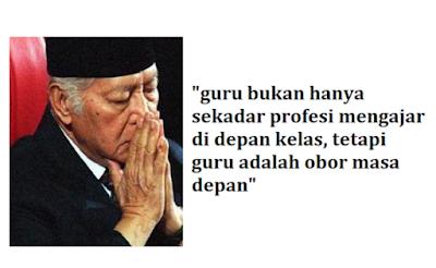 Presiden Soeharto Sangat Menghormati Figur Guru: Guru Bukan Hanya Sekadar Profesi Mengajar di Depan Kelas, Tetapi Guru adalah Obor Masa Depan