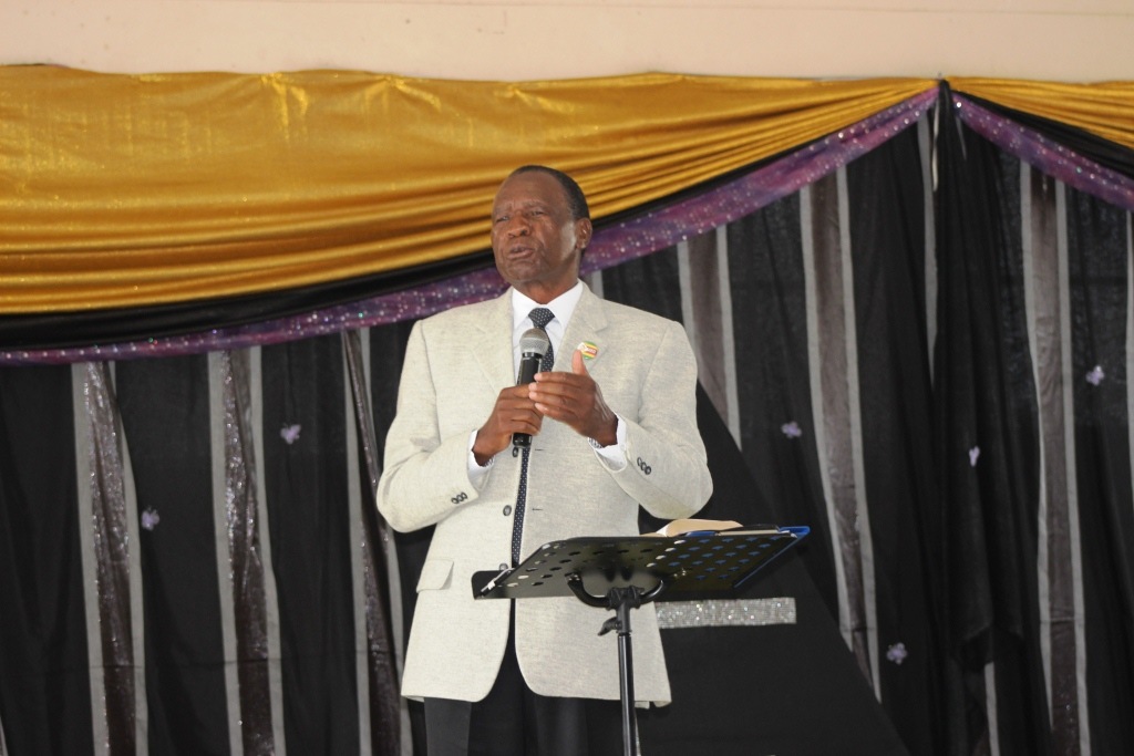 Overseers Abel and Gladys Dube Takes The Podium To Teach Mega Church Leaders