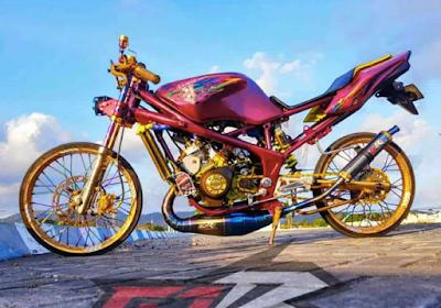 Modifikasi AirBrush Motor Ninja RR