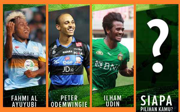 Player of the Week Liga 1 Pekan Ke-7, Siapa Pilihanmu?