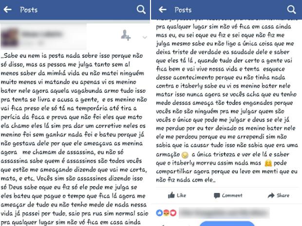 Adolescente diz que viu mãe esfaquear filho; Ministério Público trata caso como homofobia