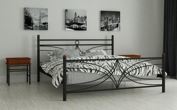 Кровать металлическая Тиффани 120х190/200 ТМ Мадера