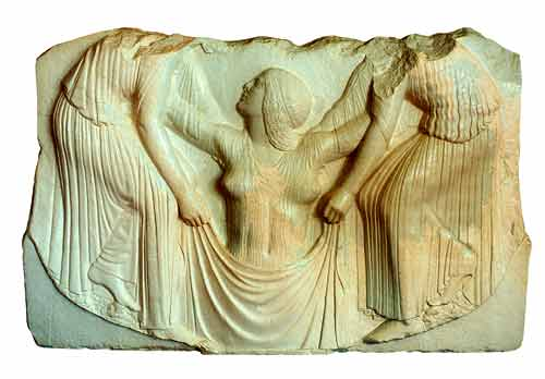 Resultado de imagen de Afrodita trono ludovisi