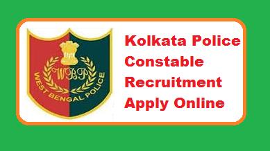 Kolkata Police Constable Recruitment 2019
