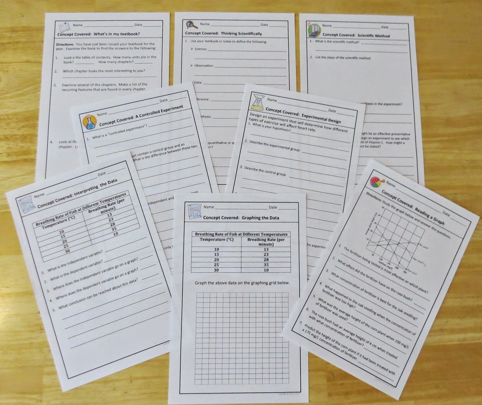 Amy Brown Science Biology Warm Ups And Bell Ringers Great Classroom Management Tool