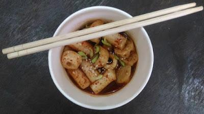 Tteokpoki;KOKAPE – Korean Cafe Di Probolinggo