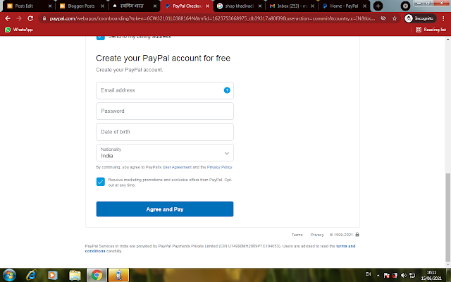 Embed PayPal checkout option on your website, PayPal debit card option on the website