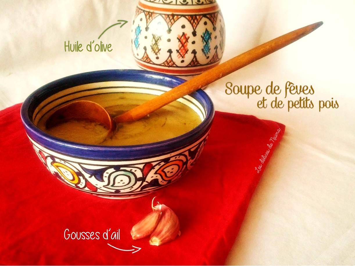 Soupe De Feves Et De Petits Pois Bissara Marocaine