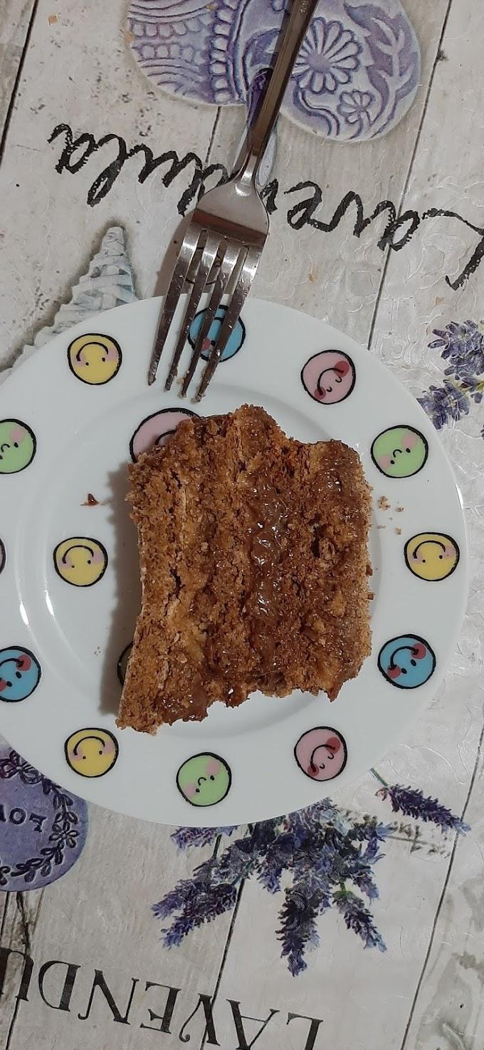 Lešnik Nutella torta