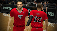 Chicago Bulls Red Short-Sleeved Christmas Jersey