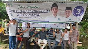 Manfaatkan Potensi Desa Hingga Jemput Bola ke Kementerian akan di lakukan Fadhil Untuk Masyarakat Batanghari