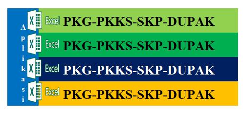 Download Master Aplikasi PKG,PKKS,SKP, Dan DUPAK Format Excel