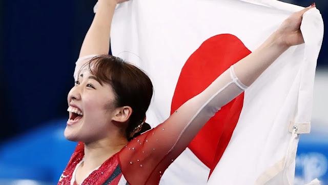 Mori Hikaru trampolim ginástica japão