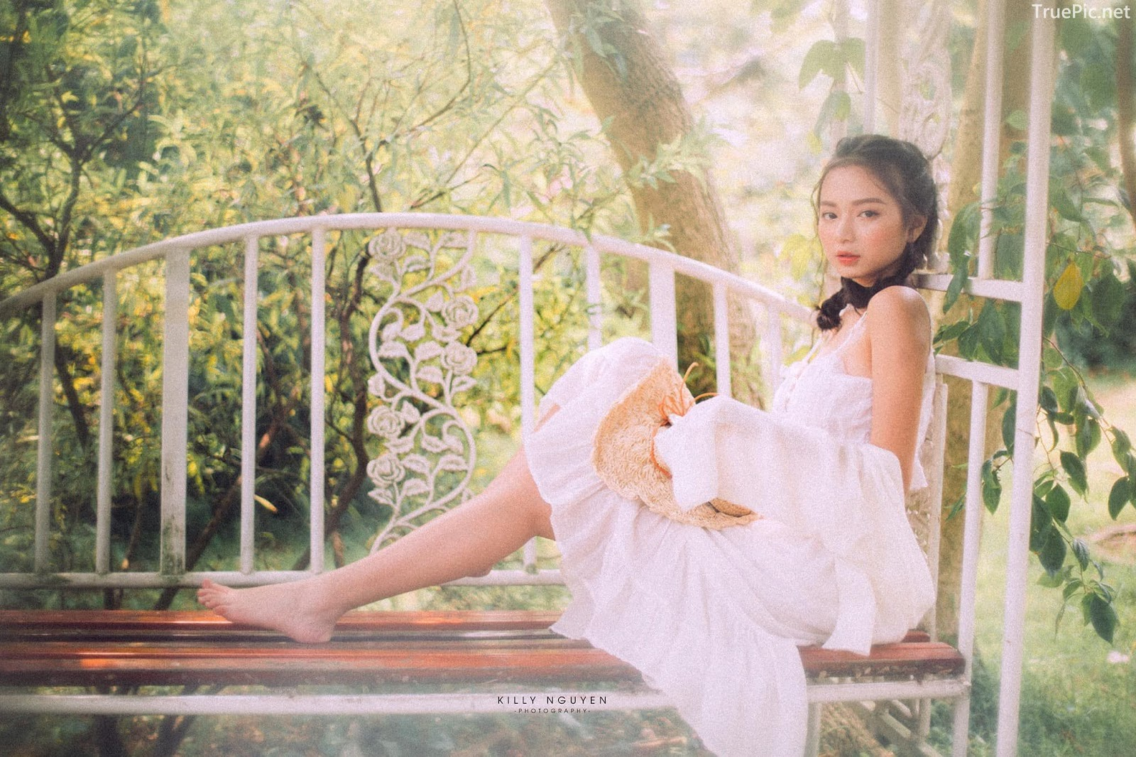 Vietnamese Sexy Model - Vu Ngoc Kim Chi - Beautiful in white - TruePic.net- Picture 39