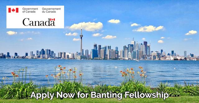 منح مقدمة من الحكومة الكندية للحصول على منحة برنامج الزمالة البحثية لأبحاث مابعد الدكتوراه