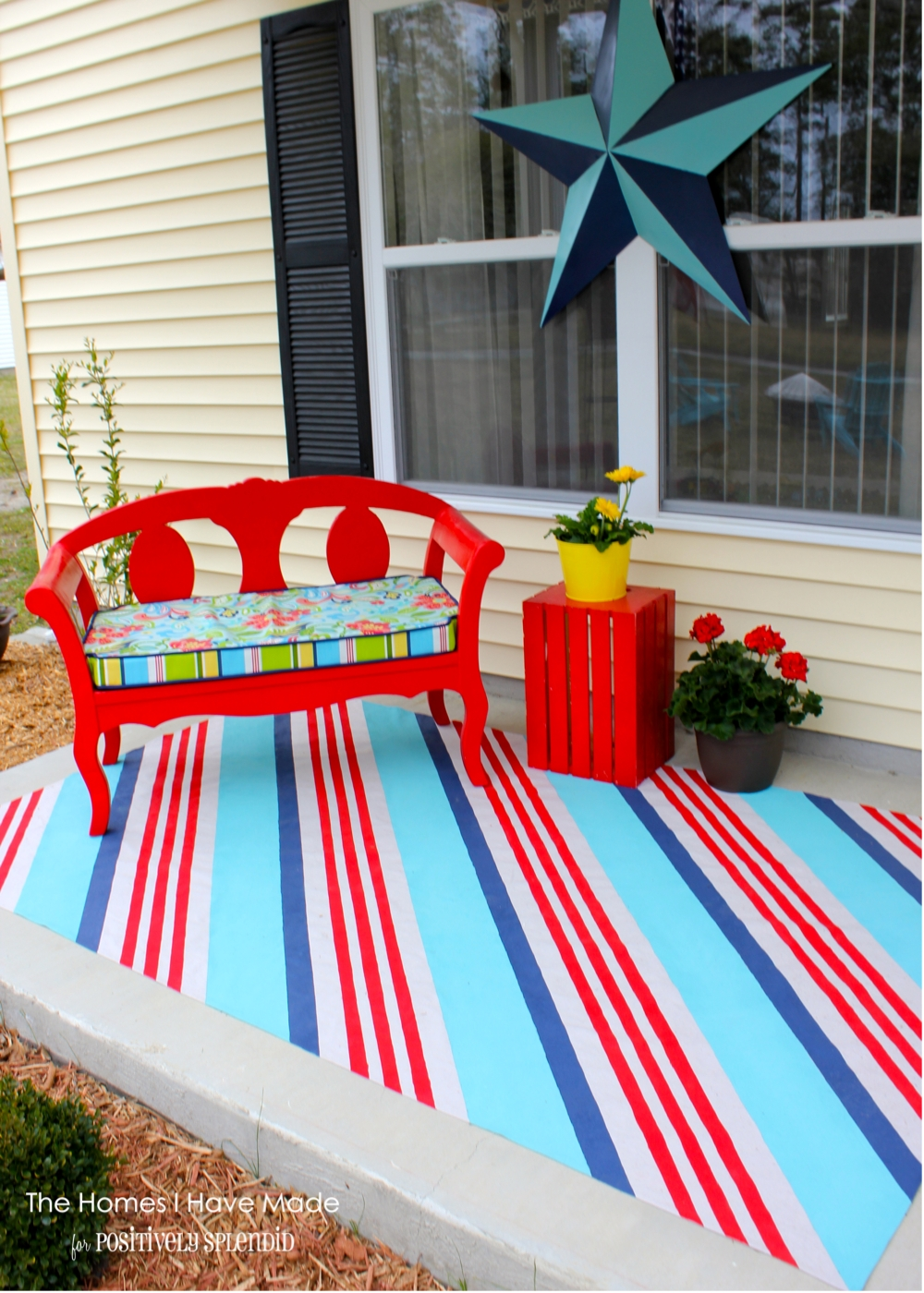 rug our diy outdoor fresh pallet with deck backyard of