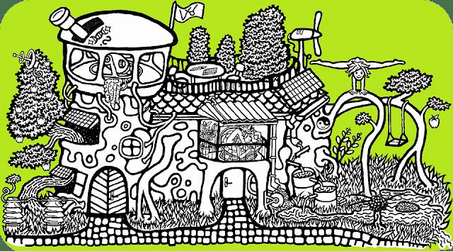 obrázek Wesmírodivný domeček, autor Sebastián Wortys