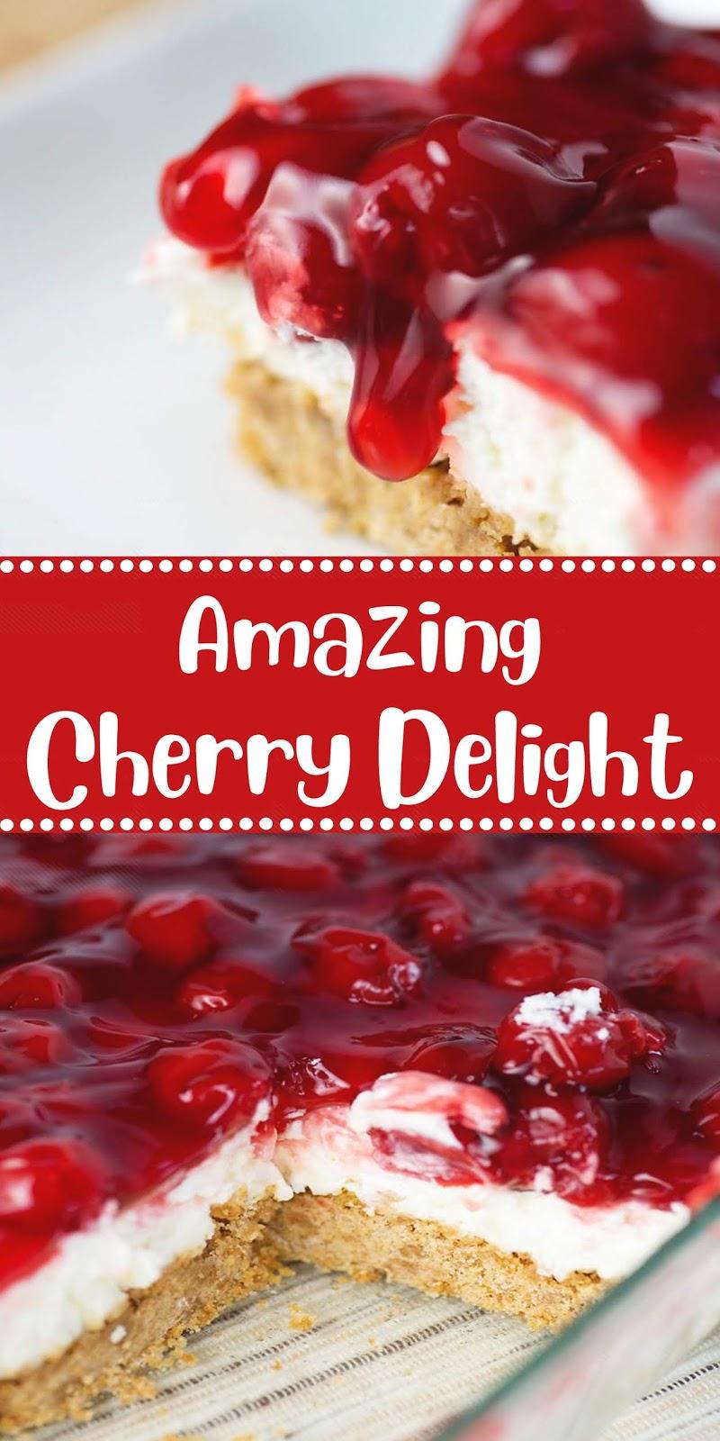 Amazing Cherry Delight   20 CAPTAIN RECIPES