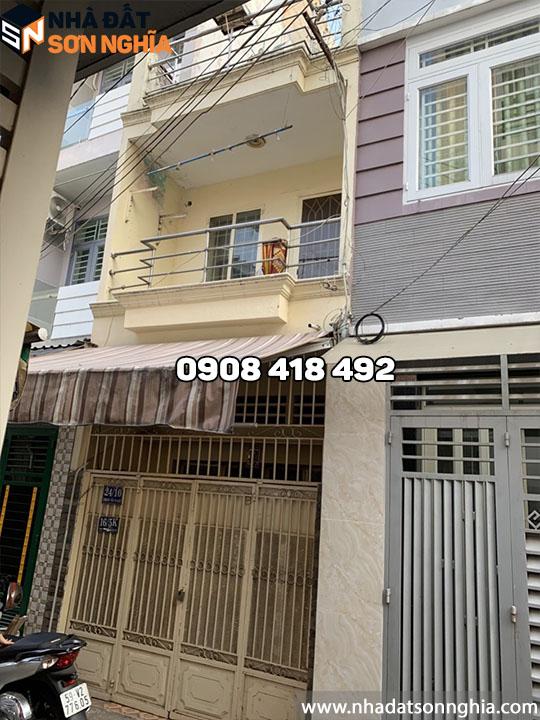 Bán nhà Gò Vấp hẻm 24 đường số 3 phường 9