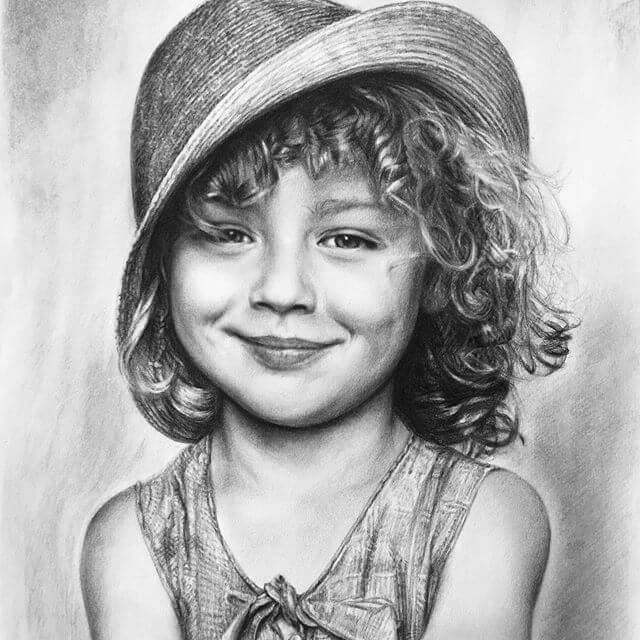 02-Generations-in-Pencil-Portraits-Aduhong-www-designstack-co