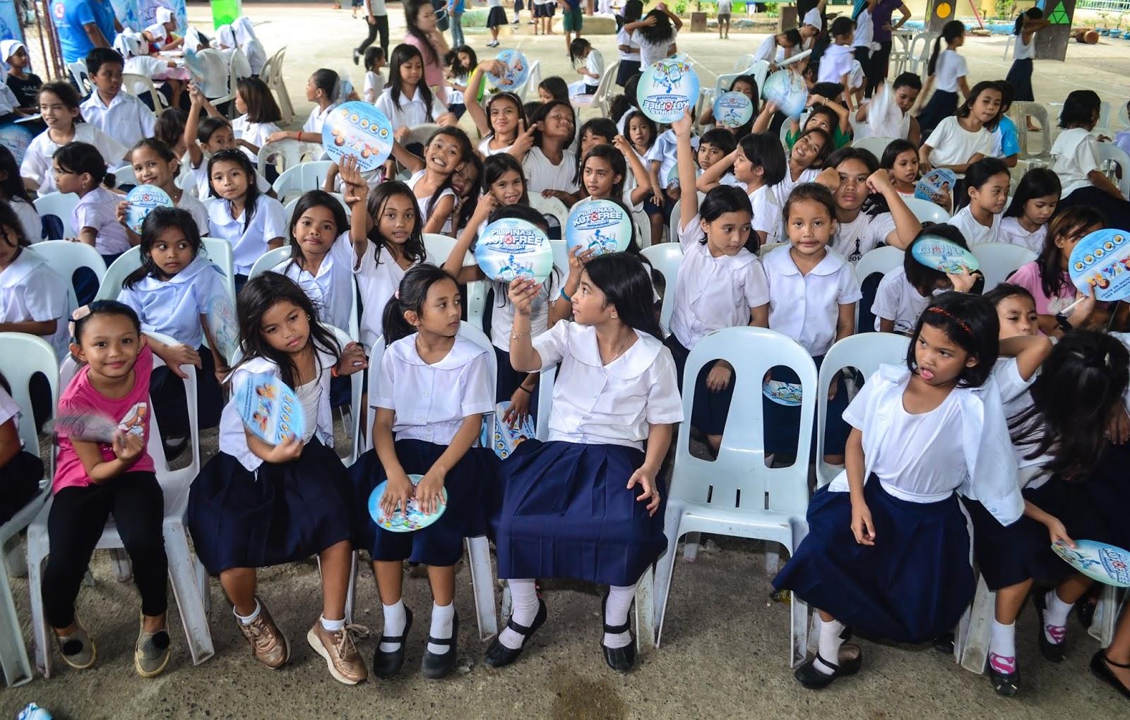Licealiz Cebu Students of Labangon Bliss Elementary School