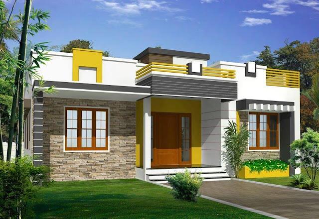 Desain Rumah Modern 1 lantai
