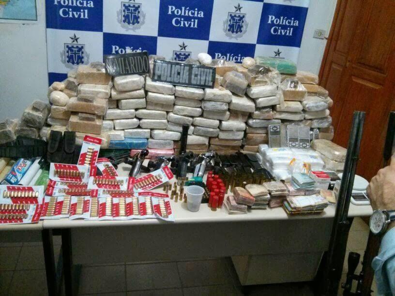 Operação apreende 117,5 kg de drogas em Bom Jesus da Lapa
