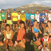 EM FLAMENGO - BA: Escolinha treina forte para o Campeonato Baiano Adulto, domingo 18/03