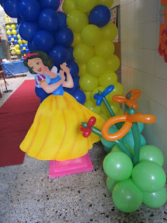 DECORACION PRINCESA DISNEY BLANCA NIEVES FIESTAS INFANTILES