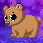 Play Games4King - G4K Tranquil Bear Cub Escape Game