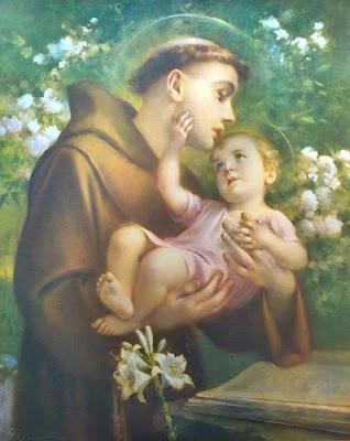 Imagens de Santo Antônio - Fotos, pinturas, vitrais, ícones