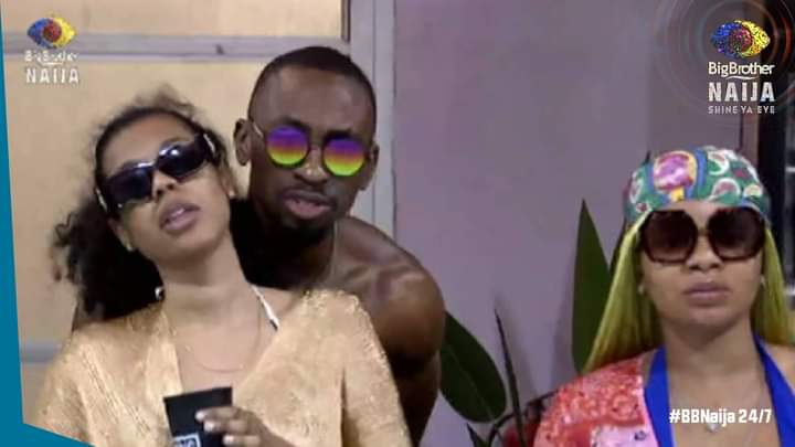 BBNaija Week 9: Pictures from Friday's night party, Saga and Nini dancing moves might shock you