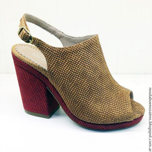 Andrea Bo primavera verano 2017 sandalias y zapatos. Moda verano 2017.
