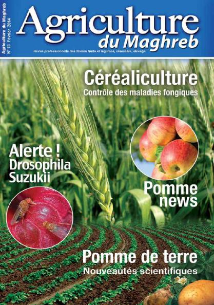 المجلة الزراعية المغربية العدد 73     Agriculture du maghreb