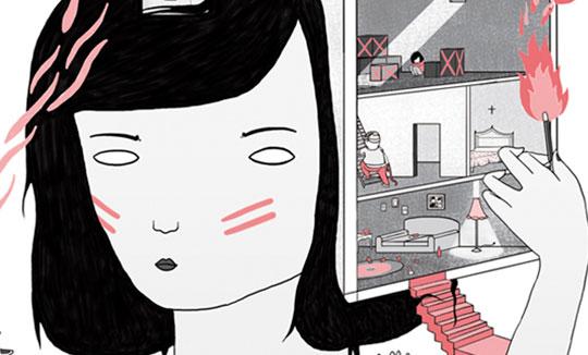 Ilustración, Old memories de Liébana Goñi