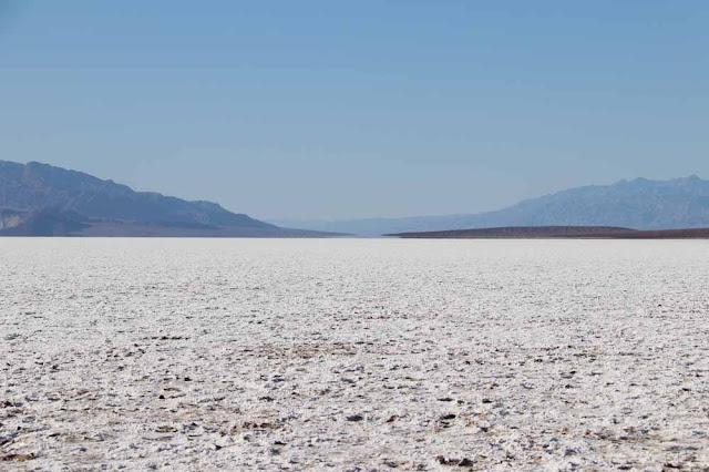 Death Valley on vaikuttavan laaja alue